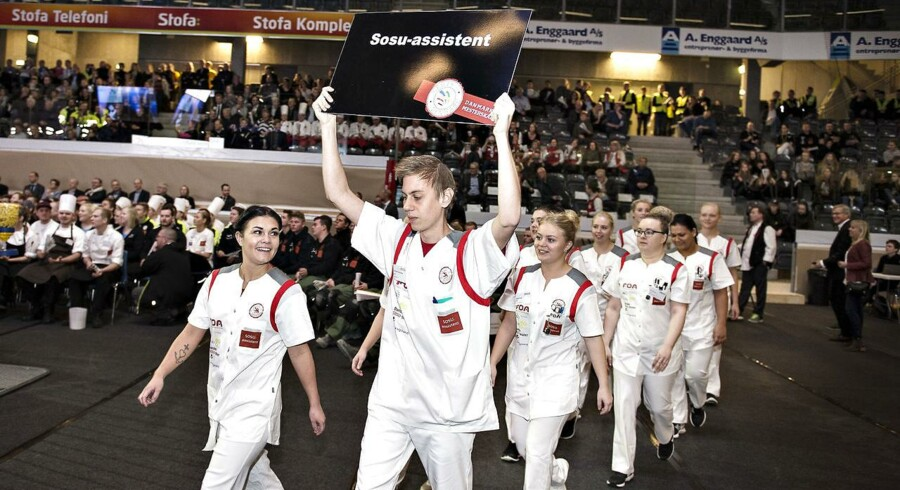 Arkivfoto: DM i Skills i Gigantium i Aalborg.