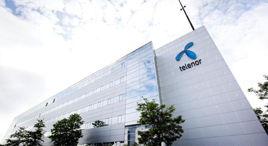 Norske Telenor bliver presset i Danmark, hvor det er landets næststørste teleselskab. Foto: Telenor