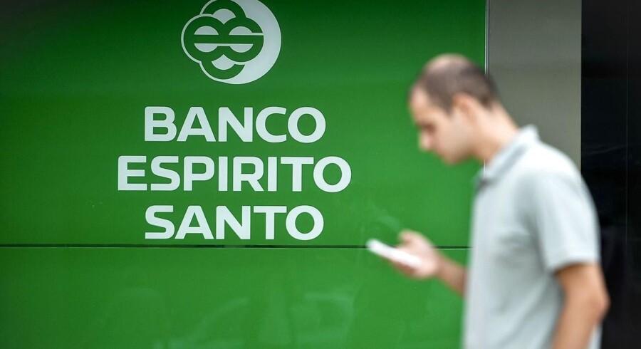 TDCs pensionskasse skød penge i Espirito Santo Bank - og tabte dem, da banken gik konkurs.