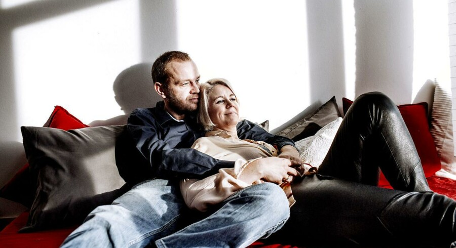 Pia Allerslev og hendes mand, Christian Simonsen.
