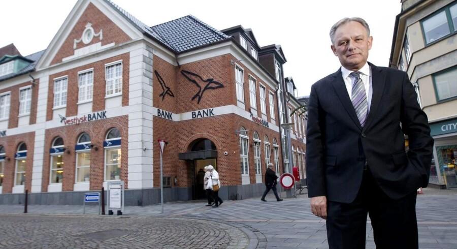 Jan Ulsø Madsen, adm. direktør i Vestjysk Bank.