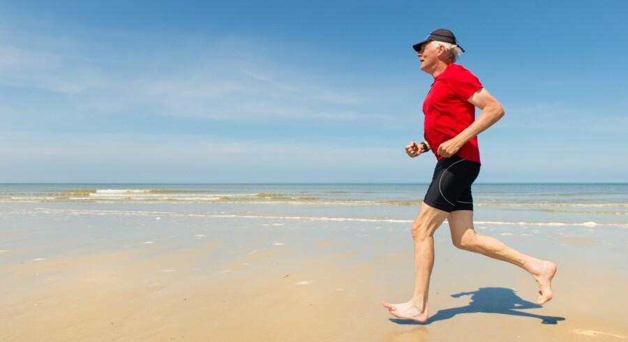 Intensiv træning forebygger en tidlig død.