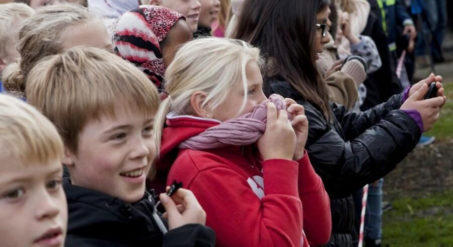 Mærks-pengene skal helt ud til børnene i folkeskolen, mener skoleledernes formand, Anders Balle.