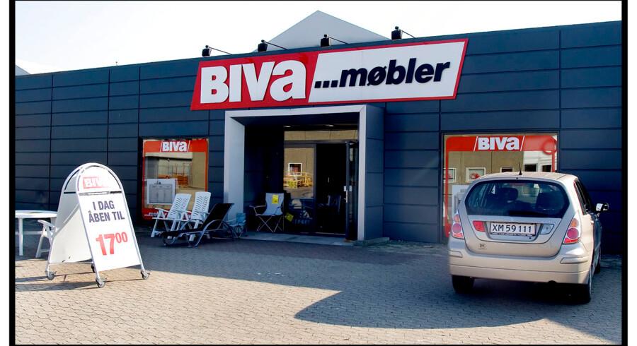 Biva Møbler i Hillerød. Arkivfoto.