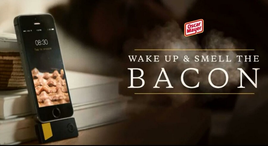 Ny app kan vække dig med lugten af Bacon