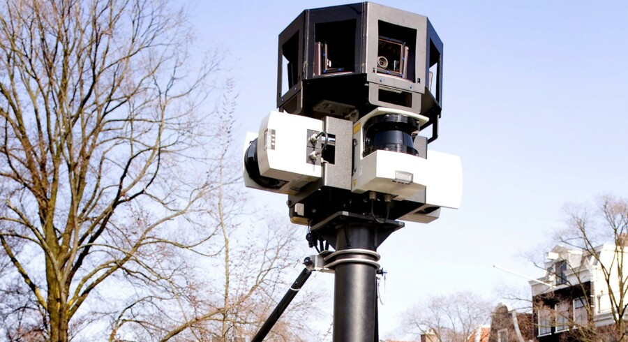 Google rejser nærmest verden rundt med kameraer som dette for at lave sitet Google Street View.