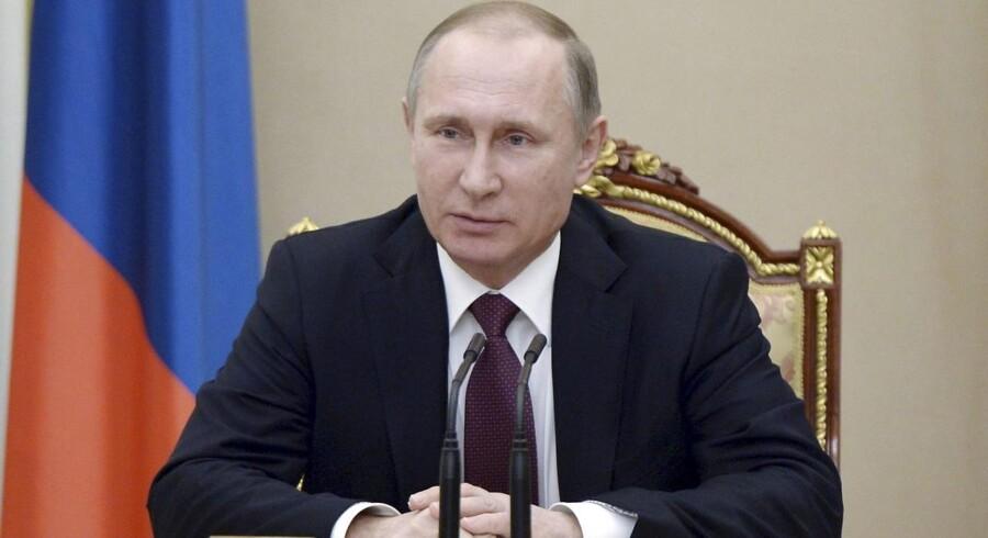 Vladimir Putin. ARKIVFOTO.