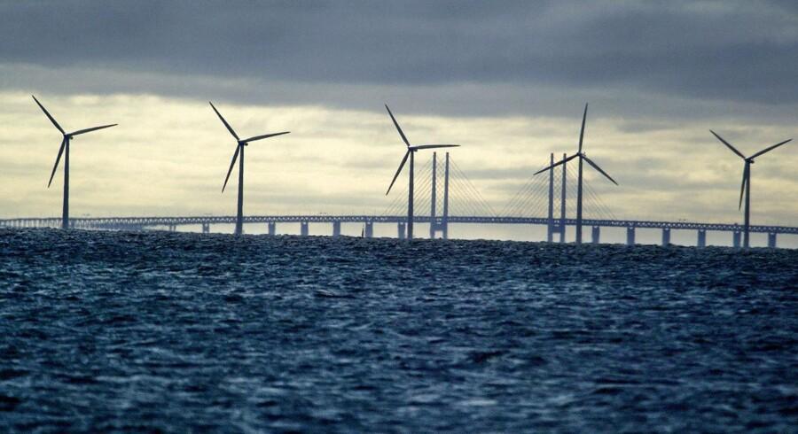 Større møller betyder, at Sverige vinder ind på Danmark, hvad angår antallet af installerede megawatt vindkraft.