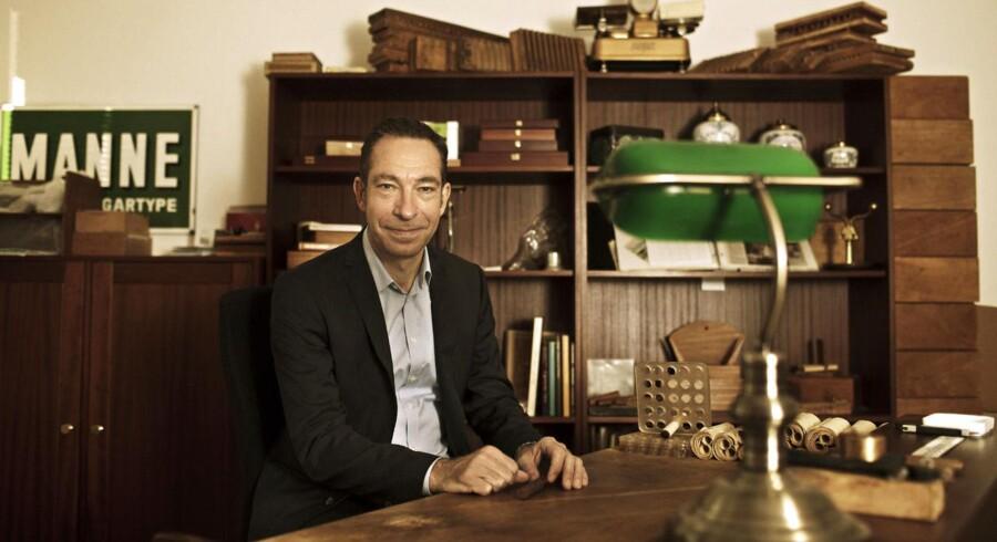 Anders Colding Friis, adm. direktør Scandinavian Tobacco Group, lykkes langt om længe med et opkøb.