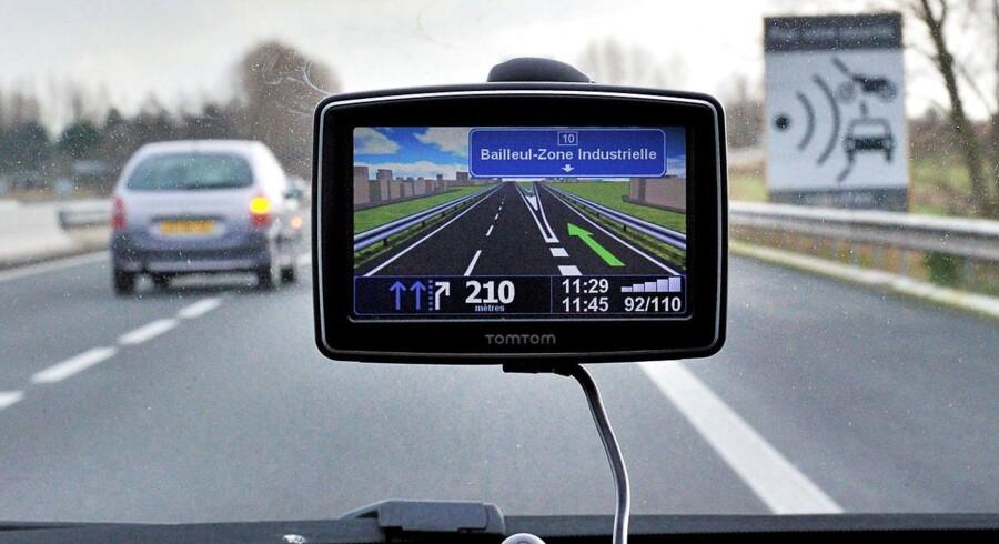 Vejdirektoratet overvåger dig! Foto: Philippe Huguen/AFP
