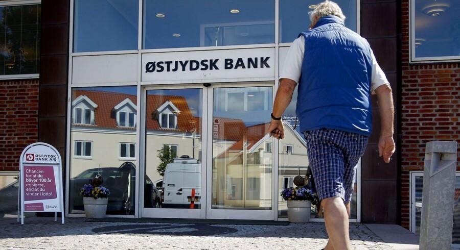Arkivfoto. Østjydsk Bank må nedskrive 20 mio. kroner på grund af landbruget.