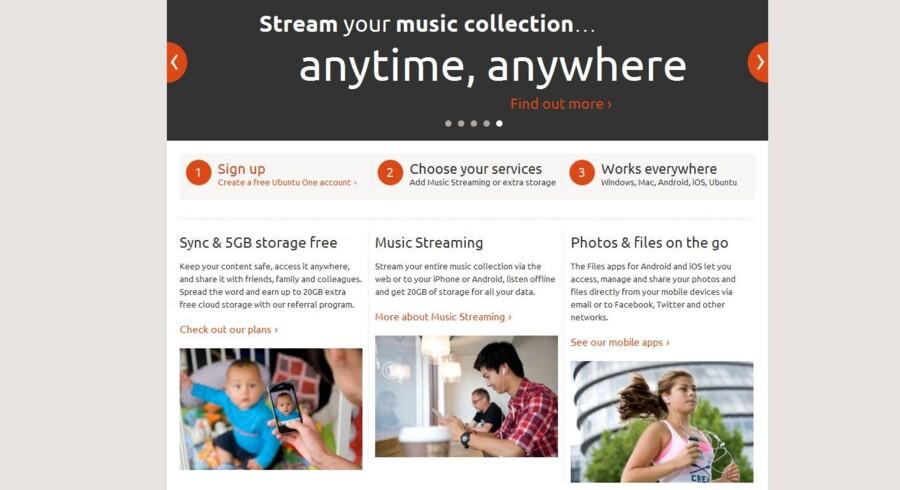 Ubuntu One lukker for sin musik- og netlagertjeneste, som ellers er fulgt gratis med, når man brugte Ubuntu som styresystem.