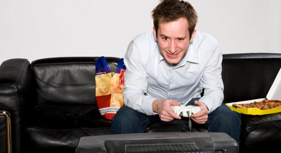 Sidste år blev der solgt 350.000 Playstation, Xbox 360 og Wii i Danmark. Foto: Colourbox