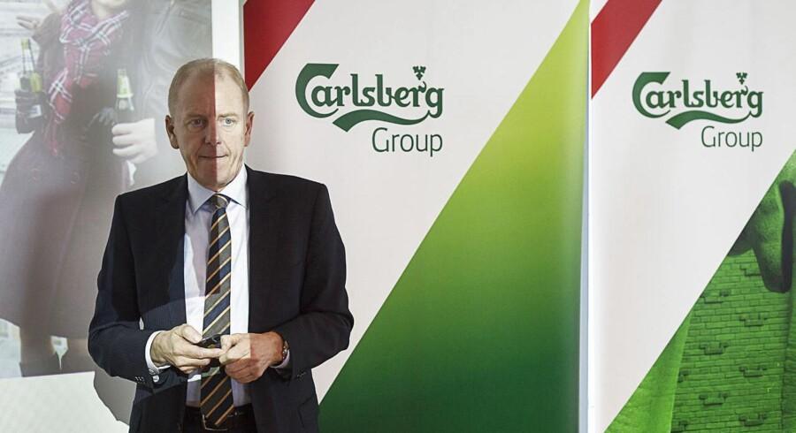 Carlsbergs regnskab 2013, Jørgen Buhl Rasmussen CEO. (Foto: Jonas Skovbjerg Fogh/Scanpix 2014)
