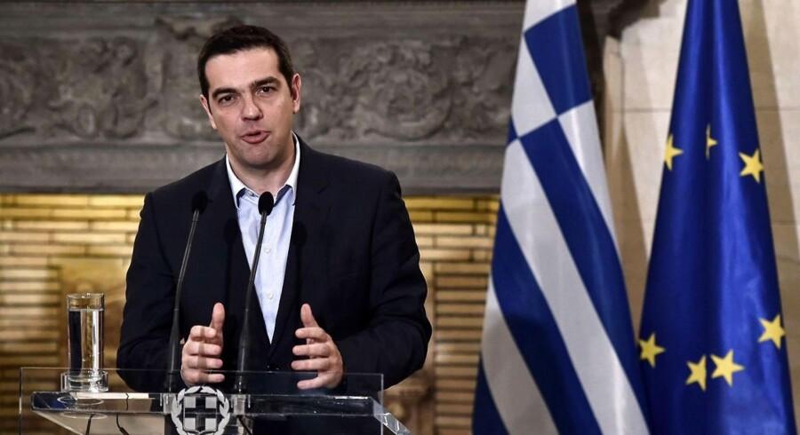 Grækenlands premierminister Alexis Tsipras klarede sig gennem en mistillidsafstemning i det græske parlament. Nu venter resten af eurozonens ledere.