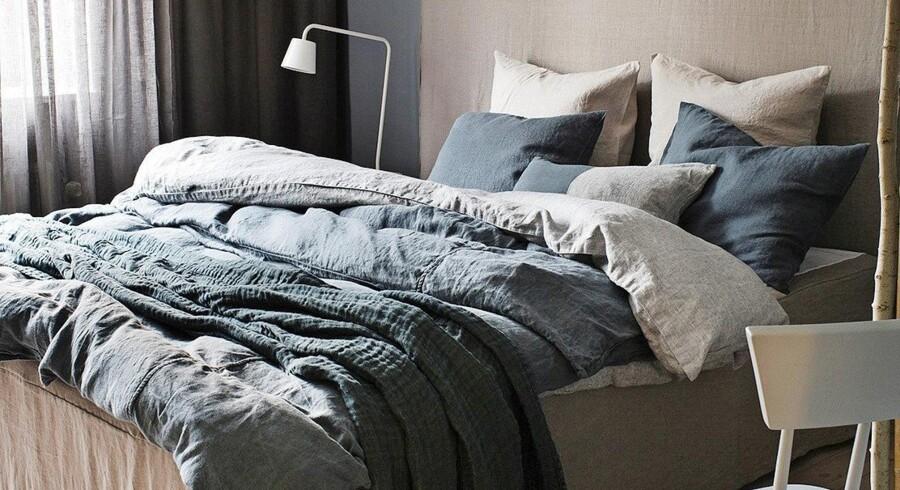 Soveværelset skal være præget af dæmpede, mørke farver og blød belysning. Fotos: PR