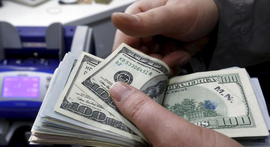 En stærk amerikansk dollar har givet selskaberne i USA ekstra appetit på at lave opkøb i Europa og Asien.