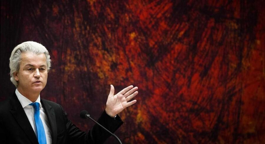 Den hollandske politiker Geert Wilders.
