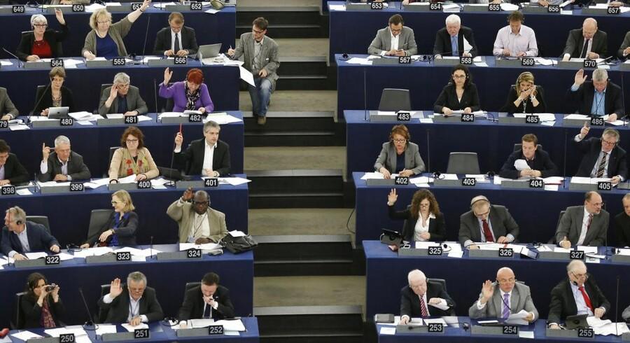 Europa-Parlamentet truer nu USA med at ophæve aftaler om udveksling af data om blandt andet flypassagerer, hvis USA ikke løfter sløret for omfanget af overvågning af europæere. Arkivfoto: Vincent Kessler / Reuters / Scanpix