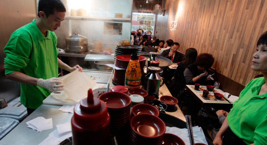 Restaurant Tim Ho Wan i Hong Kong - hvor den dyreste ret koster 25 kr. - har netop fået en Michelin-stjerne.