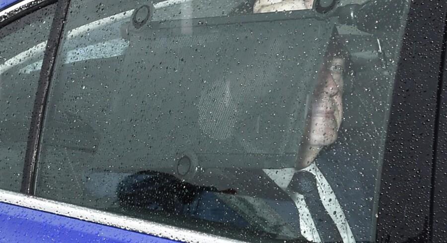 Ny dronningerunde på Amalienborg. Lars Løkke Rasmussen ankommer til møde med Dronningen.