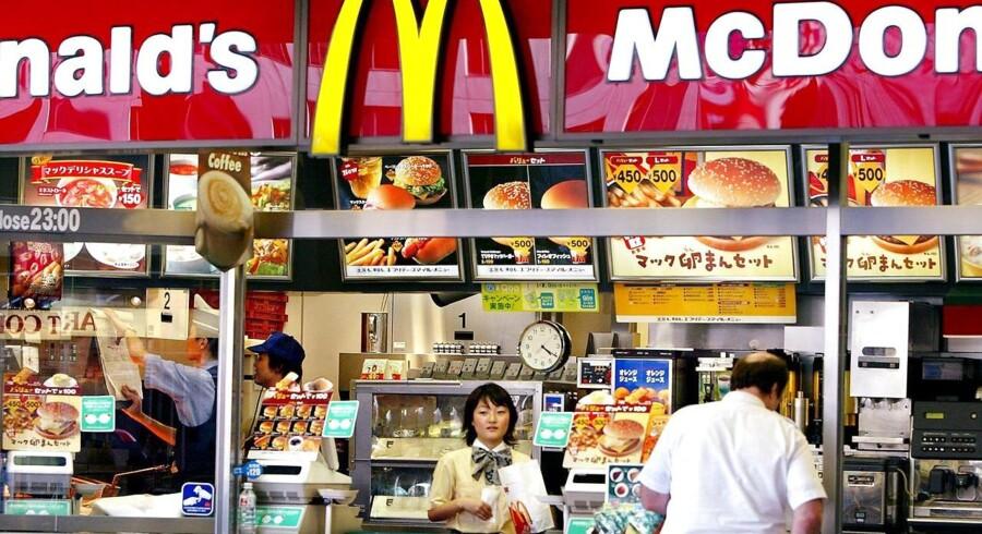 Japanske pommes frites-elskere må nu nøjes med mindre portioner på McDonald's, der er ved at løbe tør.