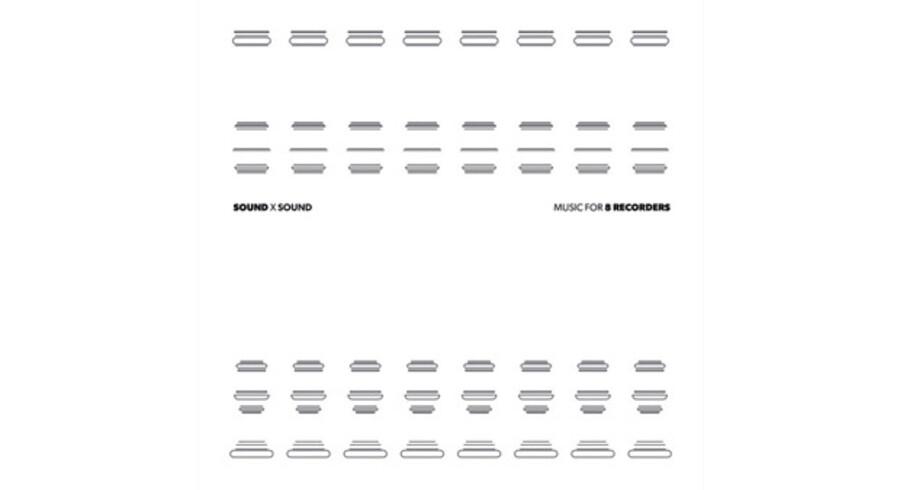 »Sound x Sound: Music for 8 Recorders« af Niels Lyhne Løkkegaard