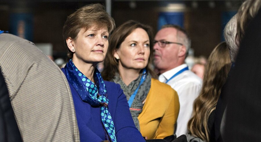 Miljø- og fødevareminister Eva Kjer Hansen under Venstres landsmøde i weekenden.