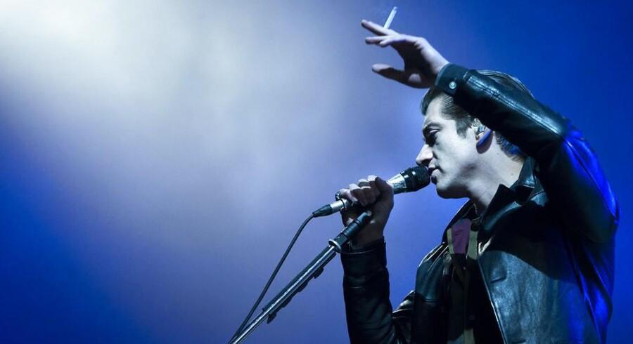 Alex Turner, Arctic Monkeys, Orange Scene, Roskilde Festival 2014.