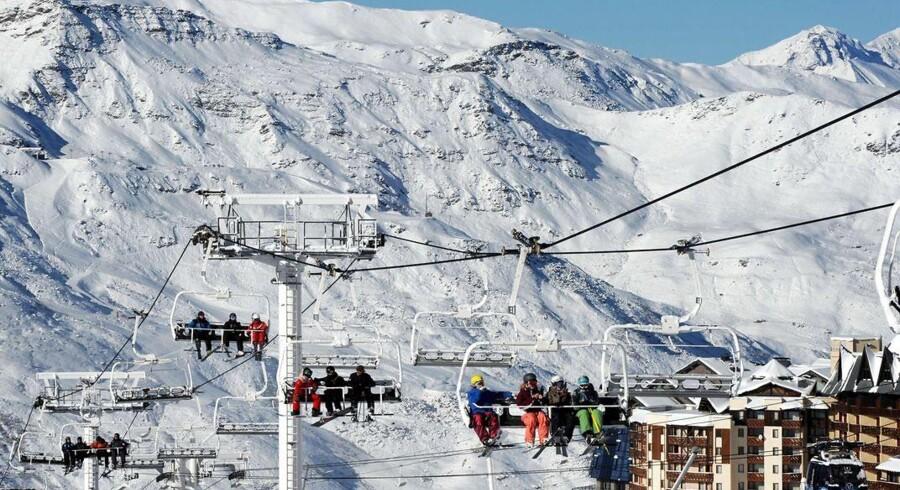 Ski in-ski out med pister og lifter lige uden for døren i franske Val Thorens.