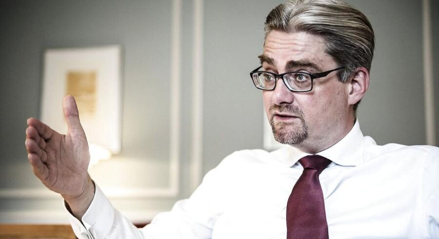 »Nu diskuterer vi ikke længere, om der skal afgives suverænitet. Vi diskuterer graden af suverænitetsafgivelse. Det er positivt,« siger justitsminister Søren Pind (V), der øjner en ændring i Dansk Folkepartis forhold til EU-samarbejdet.