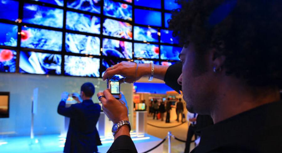 Et sand elektronikmekka er Consumer Electronics Show (CES) i Las Vegas hvert år. Foto: David McNew, AFP/Scanpix