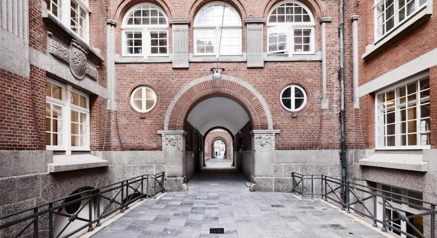 Et kig ind i Sankt Petri Passage, der før var et lukket TDC-område, men nu huser adskillige virksomheder og et kursussted.