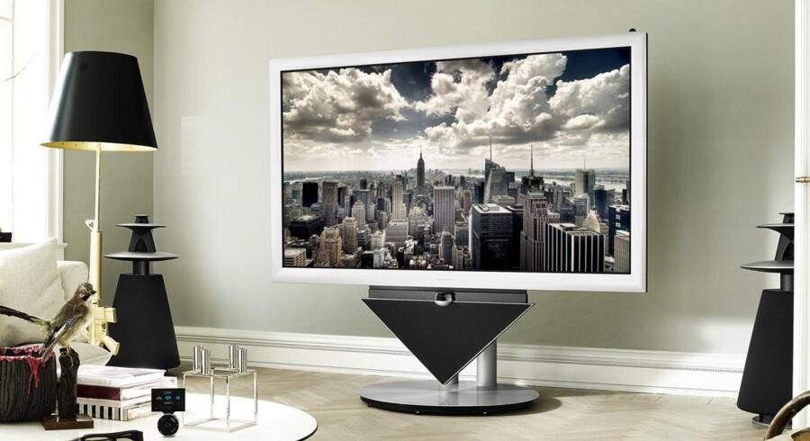 B&Os nye 3D-fjernsyn koster 384.000 kroner for den billigste model. Modellen på billedet koster 527.000 kroner.