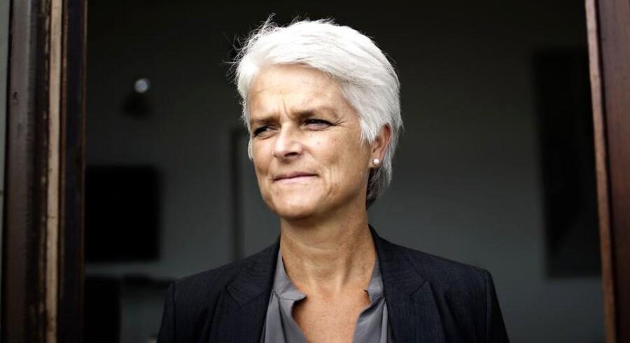 Formand for SF og Socialminister Annette Vilhelmsen.