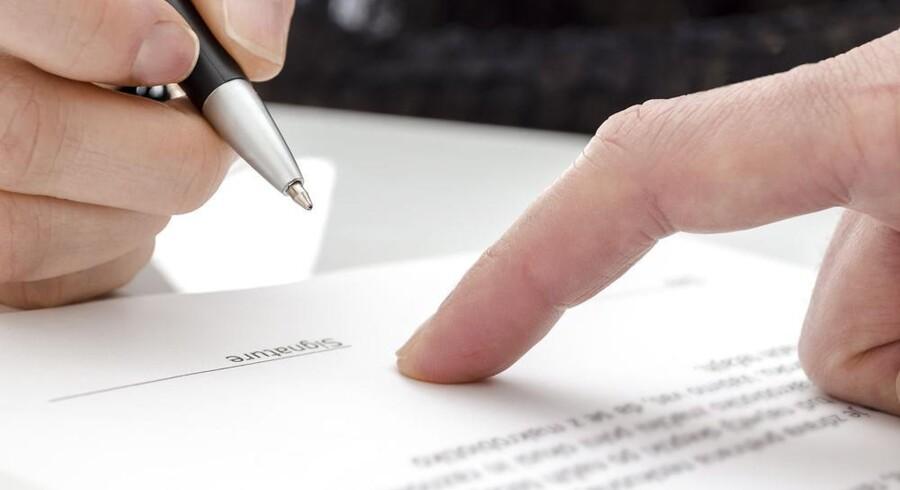 Man kan ikke efter en skilsmisse forlange særeje - det skal oprettes inden.