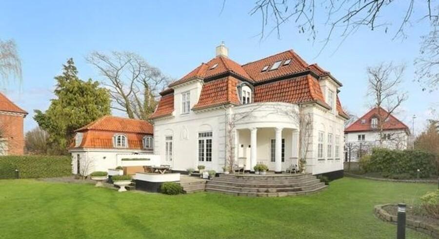 Den tidligere prinsesse fik 23 millioner kroner for sin villa på Svanemøllevej. (foto: Kristian Lützau)