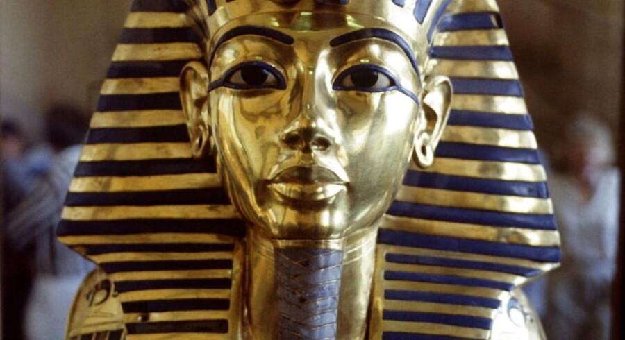 Tutankhamons maske.