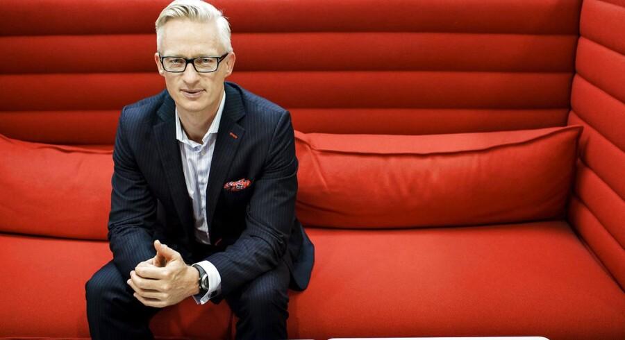 Morten Hübbe, koncernchef i Tryg.