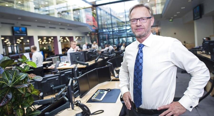 Ordførende direktør i Jyske Bank, Anders Dam, ser ikke den store risiko for en boble på boligmarkedet. Han henviser blla. til, at man på koncernens nye bankboliglån kun har haft forsvindende små kredittab.