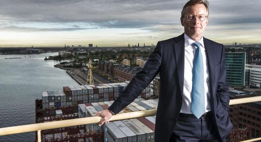 Nils Smedegaard Andersen administrerende direktør for rederikoncernen A.P. Møller - Mærsk.