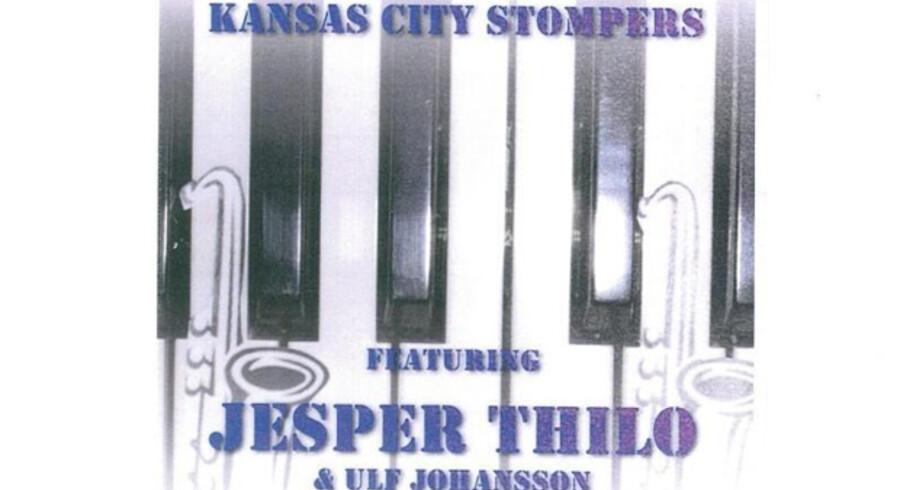 Kansas City Stompers: »Featuring Jesper Thilo & Ulf Johansson«.