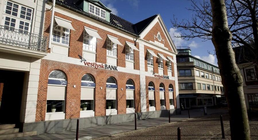 Vestjysk Bank præsenterer kvartalsregnskab