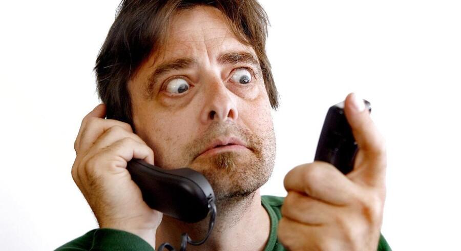 »Det er fandeme uhyggeligt, du!« Nu stiger prisen for at ringe fra fastnettelefonen til mobiltelefonen.