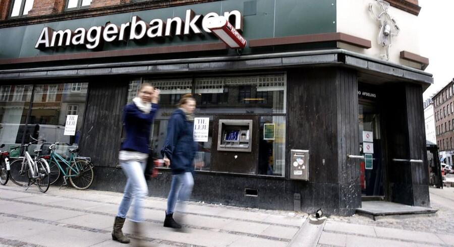 Amagerbanken er et af de pengeinstitutter, som blev overtaget af Finansiel Stabilitet