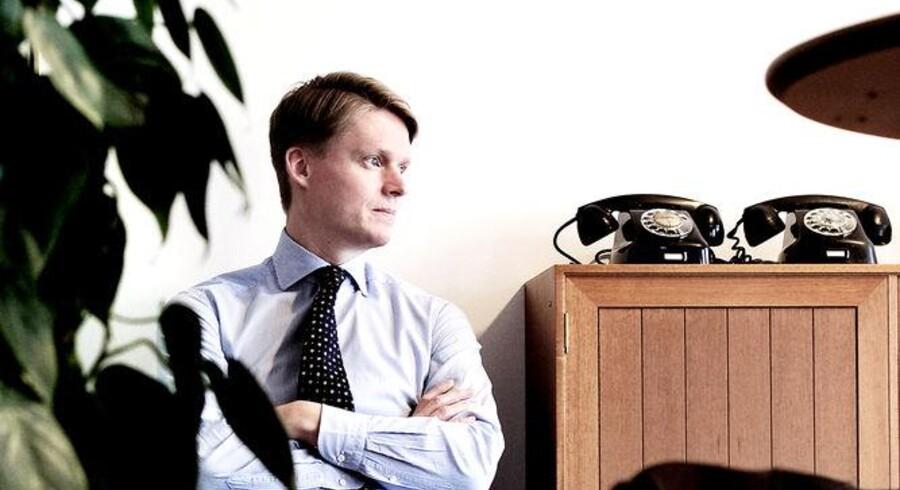 TDCs koncernchef, Henrik Poulsen, turde ikke vente længere ved telefonen og købte onsdag Onfone. Arkivfoto: Linda Henriksen