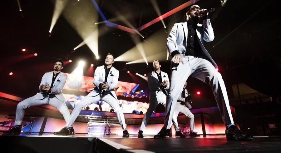 Backstreet Boys koncert. Sted: Forum, København.