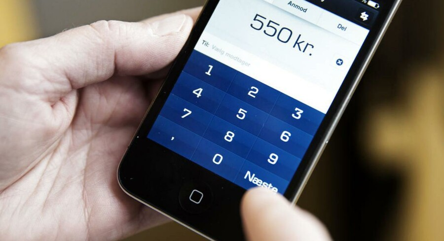 Der er sket et boom i antallet af danske mobilbrugere, der går i banken via mobilen.