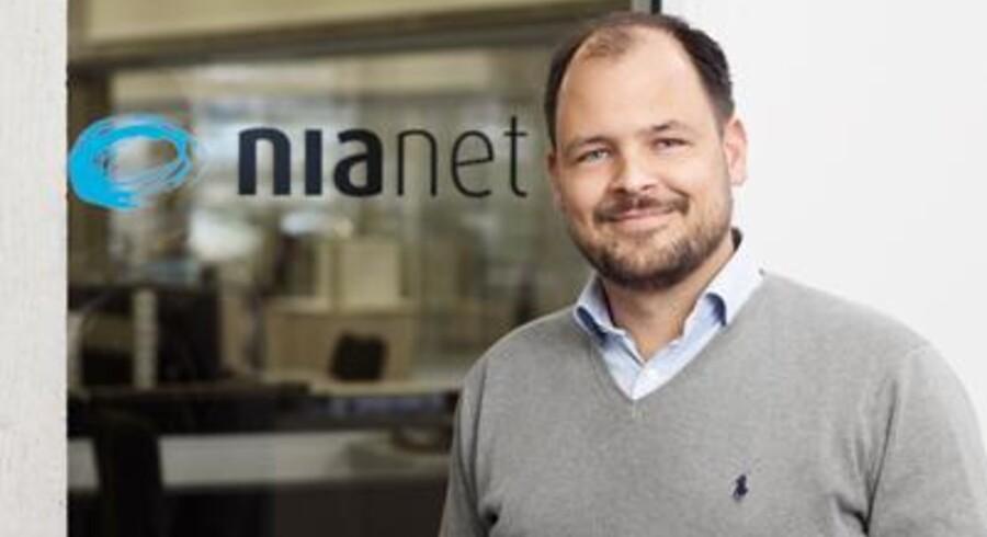 Ved at kæmpe på prisen har Nianets administrerende direktør, Rasmus Helmich, fået smidt TDC på porten som statens internetleverandør. Foto: Nianet