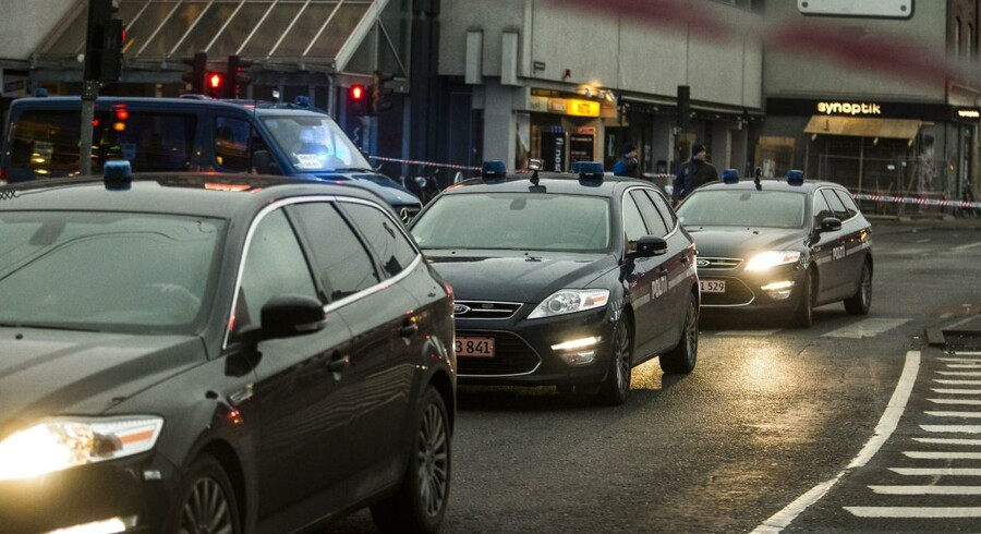 Politiopbud ved Nørrebro Station